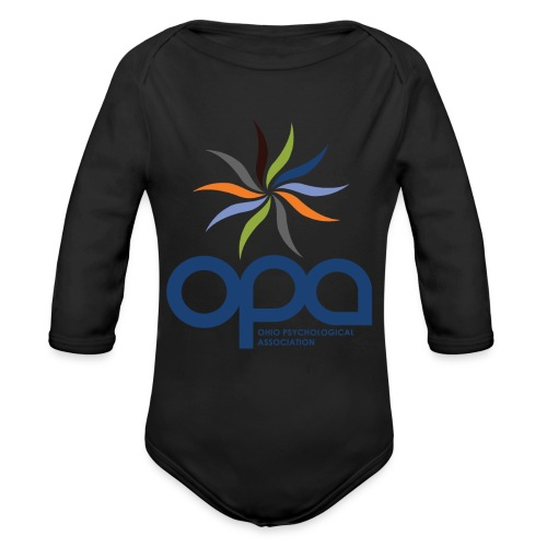 Hoodie with full color OPA logo - Organic Long Sleeve Baby Bodysuit