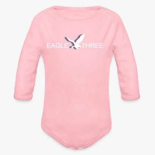 EAGLE THREE APPAREL - Organic Long Sleeve Baby Bodysuit