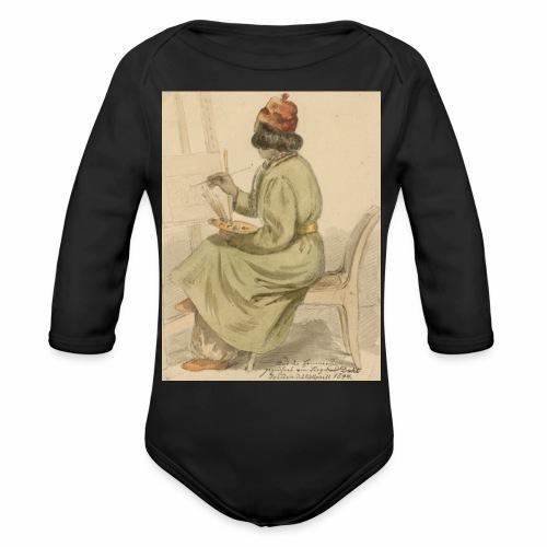 rs portrait sp 02 - Organic Long Sleeve Baby Bodysuit
