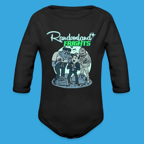 Fright Monsters - Organic Long Sleeve Baby Bodysuit