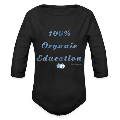 organic png - Organic Long Sleeve Baby Bodysuit