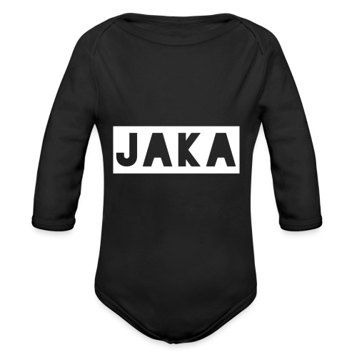 Jaka Supreme - Organic Long Sleeve Baby Bodysuit