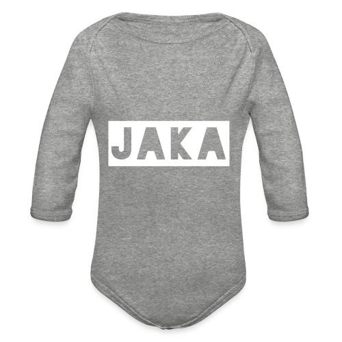 Jaka Supreme - Organic Long Sleeve Baby Bodysuit