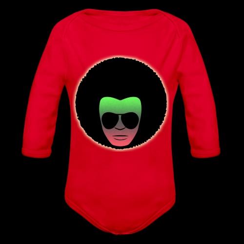 Afro Shades - Organic Long Sleeve Baby Bodysuit
