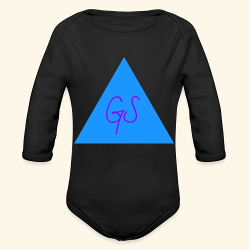 Prisms by Grace S - Organic Long Sleeve Baby Bodysuit