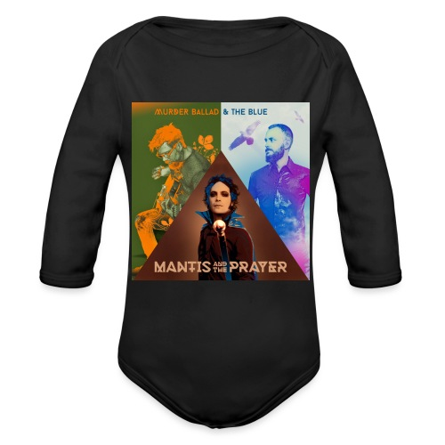 Murder Ballad & The Blue - Organic Long Sleeve Baby Bodysuit