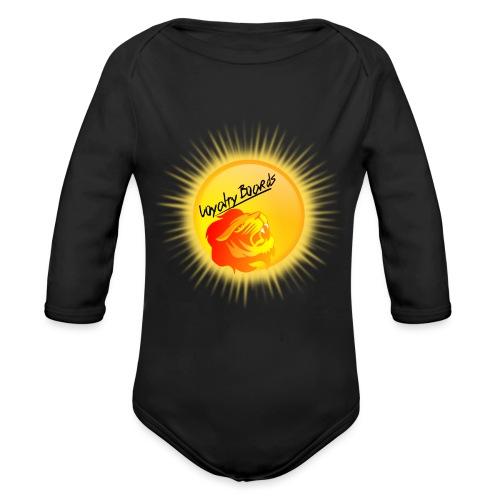 LoyaltyBoardsNewLogo 10000 - Organic Long Sleeve Baby Bodysuit