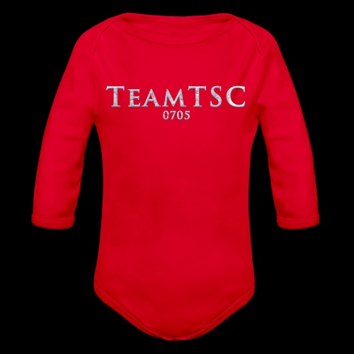 teamTSC Freeze - Organic Long Sleeve Baby Bodysuit
