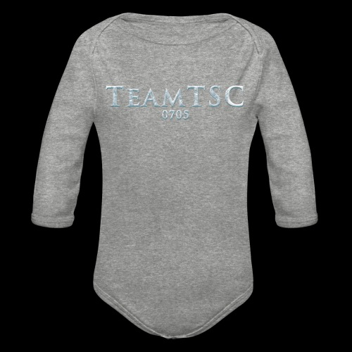 teamTSC Freeze - Organic Long Sleeve Baby Bodysuit