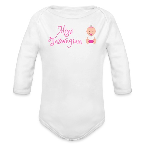 Girls Mini Taswegian - Organic Long Sleeve Baby Bodysuit