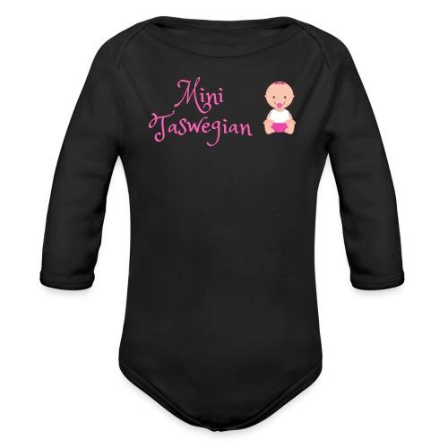 Girls Mini Taswegian - Organic Long Sleeve Baby Bodysuit