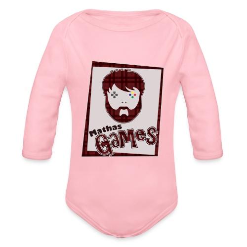 TShirt FullLogo png - Organic Long Sleeve Baby Bodysuit