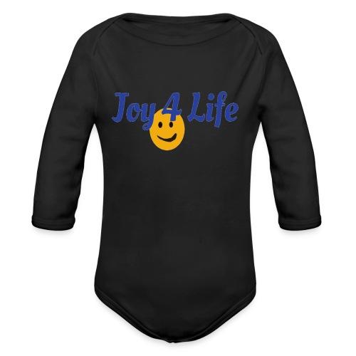 Joy4Life - Organic Long Sleeve Baby Bodysuit