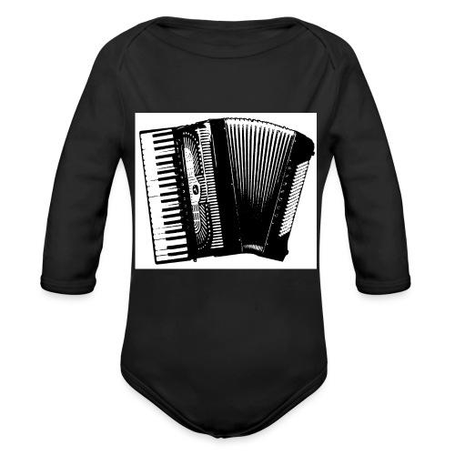 Accordian - Organic Long Sleeve Baby Bodysuit