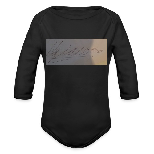 signature - Organic Long Sleeve Baby Bodysuit