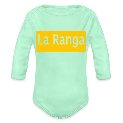 La Ranga gbar - Organic Long Sleeve Baby Bodysuit