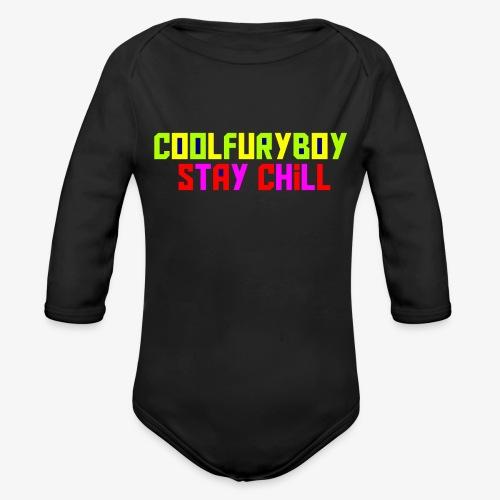 CoolFuryBoy - Organic Long Sleeve Baby Bodysuit
