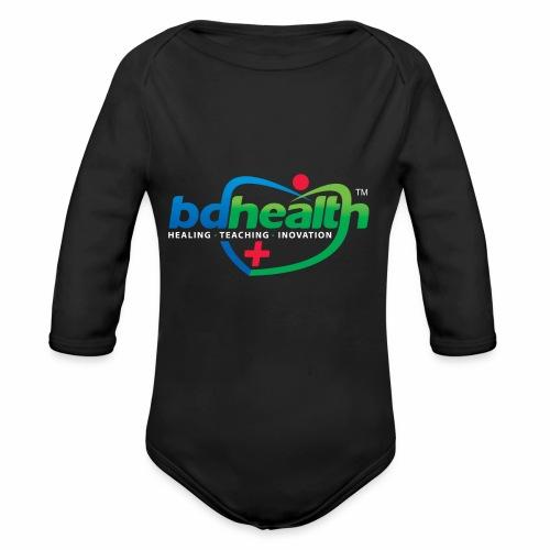 Health care / Medical Care/ Health Art - Organic Long Sleeve Baby Bodysuit