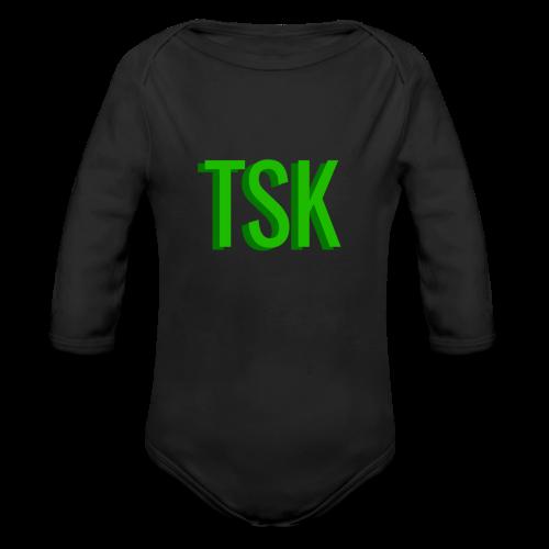 Meget simpel TSK trøje - Organic Long Sleeve Baby Bodysuit