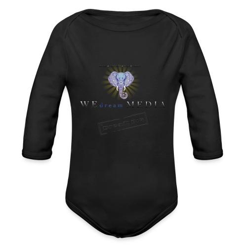 pro_logo_png_444444 - Organic Long Sleeve Baby Bodysuit