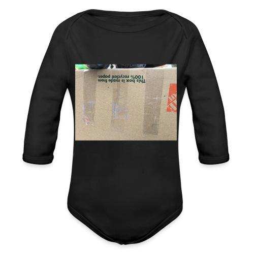 Kian - Organic Long Sleeve Baby Bodysuit