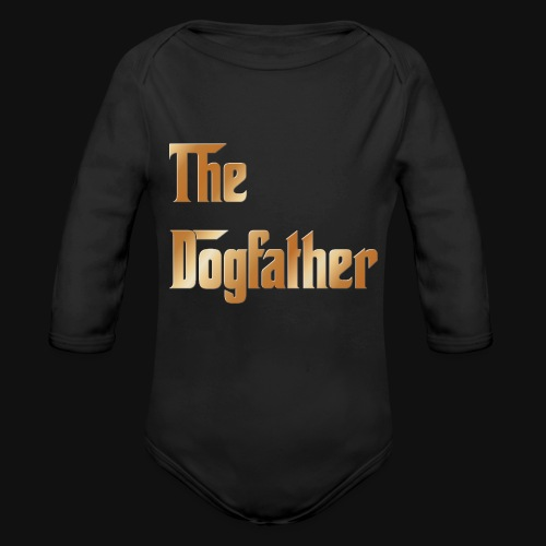 The DogFather colour - Organic Long Sleeve Baby Bodysuit