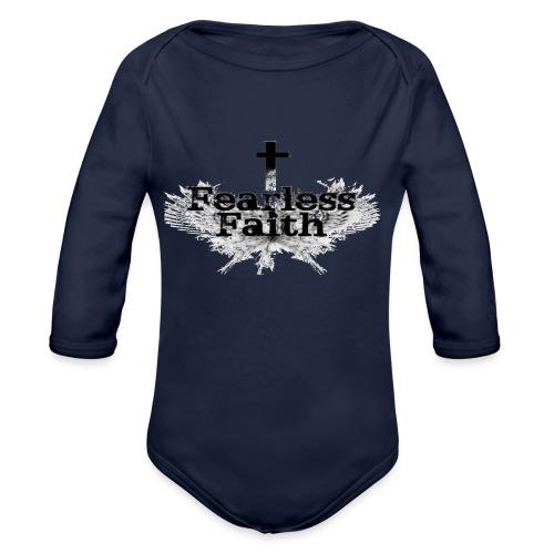 imageedit 3 4461722366 gif - Organic Long Sleeve Baby Bodysuit