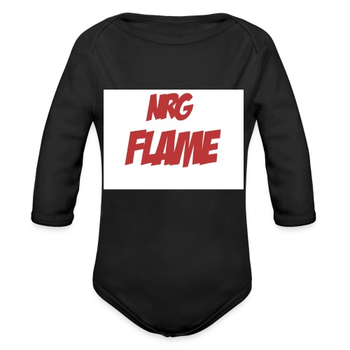 Flame For KIds - Organic Long Sleeve Baby Bodysuit