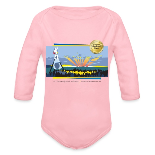 Bentley Blockade - Organic Long Sleeve Baby Bodysuit