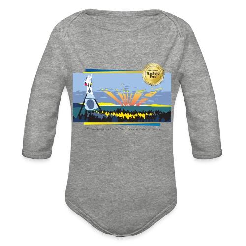 Bentley Blockade - Organic Long Sleeve Baby Bodysuit