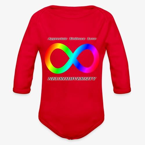 Embrace Neurodiversity - Organic Long Sleeve Baby Bodysuit