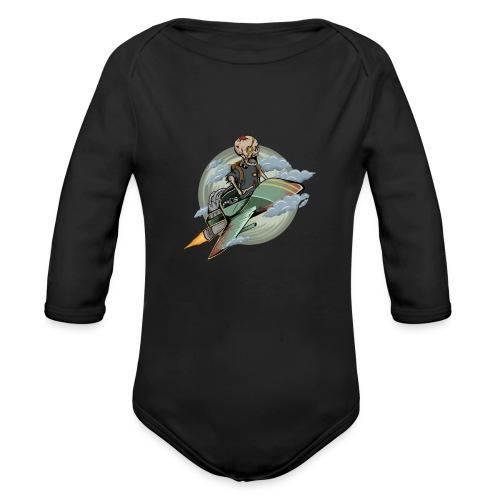 d9 - Organic Long Sleeve Baby Bodysuit