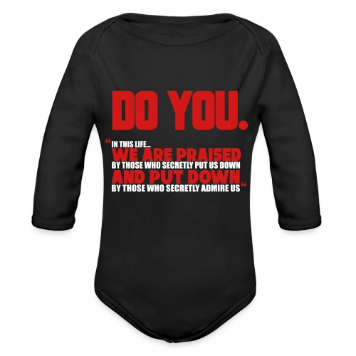 Do You - Organic Long Sleeve Baby Bodysuit