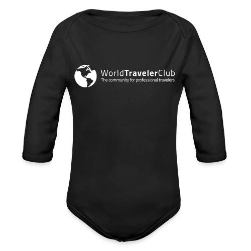 wtc logo - Organic Long Sleeve Baby Bodysuit
