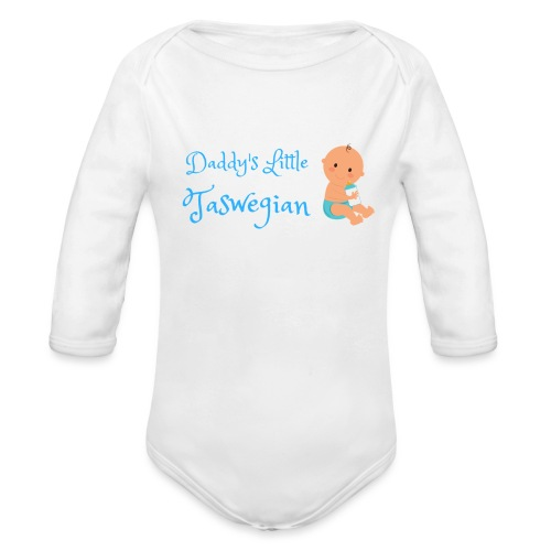 Dadds Little Taswegian Boys - Organic Long Sleeve Baby Bodysuit