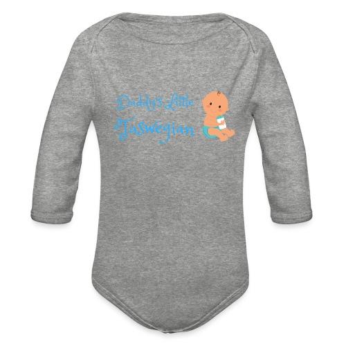 Dadds Little Taswegian Boys - Organic Long Sleeve Baby Bodysuit