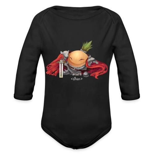 Onion Knights - Women's T - Organic Long Sleeve Baby Bodysuit