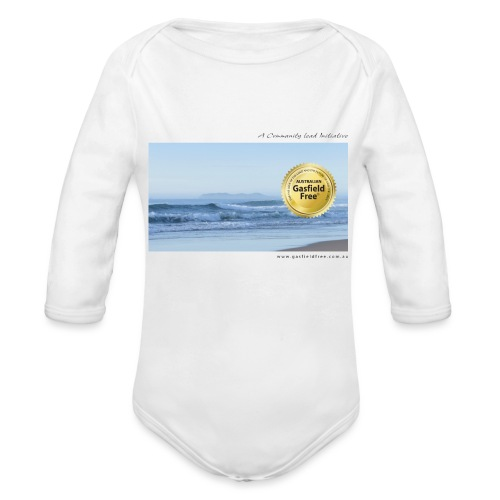 Beach Collection 1 - Organic Long Sleeve Baby Bodysuit