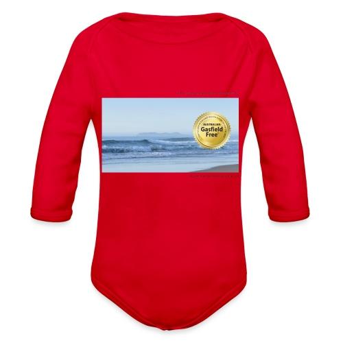 Beach Collection 1 - Organic Long Sleeve Baby Bodysuit