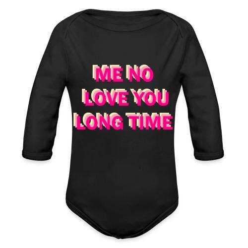 Full Metal Jacket shirt - Organic Long Sleeve Baby Bodysuit