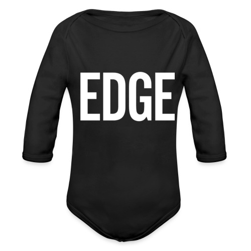 EDGE - Organic Long Sleeve Baby Bodysuit