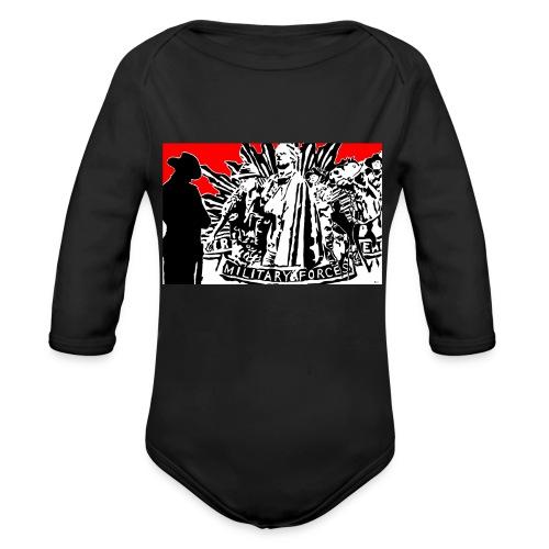 ANZAC - Organic Long Sleeve Baby Bodysuit