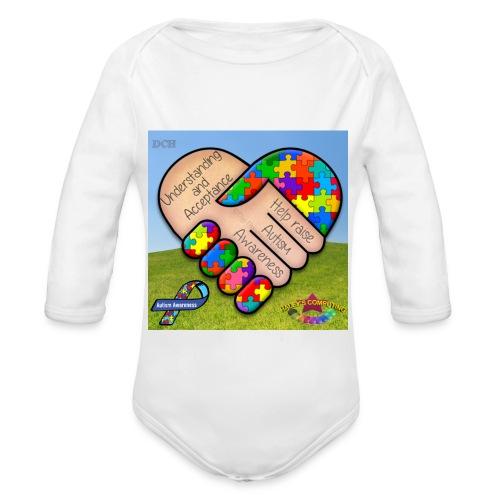 autpro1 - Organic Long Sleeve Baby Bodysuit