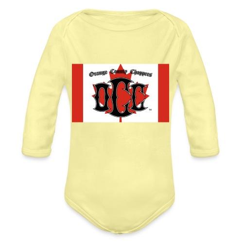 OCC Canada - Organic Long Sleeve Baby Bodysuit