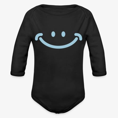 Happy Mug - Organic Long Sleeve Baby Bodysuit
