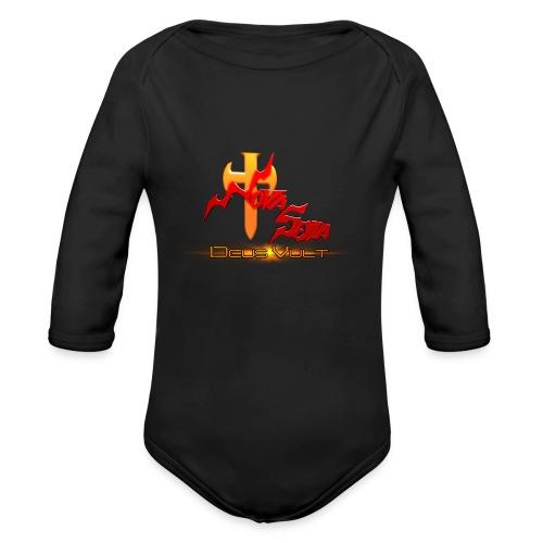 Nova Sera Logo - Organic Long Sleeve Baby Bodysuit