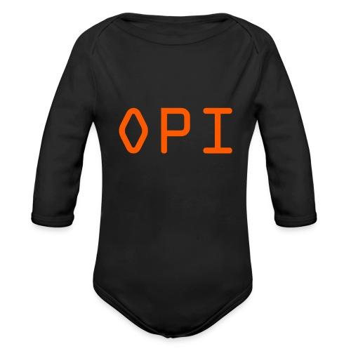 OPI Shirt - Organic Long Sleeve Baby Bodysuit
