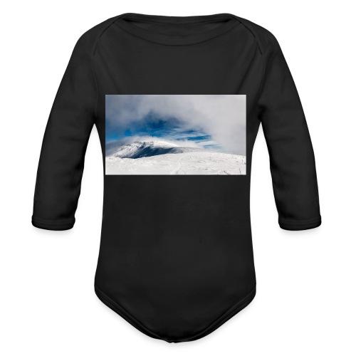 Wasteland - Organic Long Sleeve Baby Bodysuit