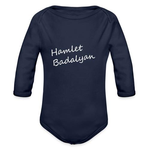 HB - Organic Long Sleeve Baby Bodysuit