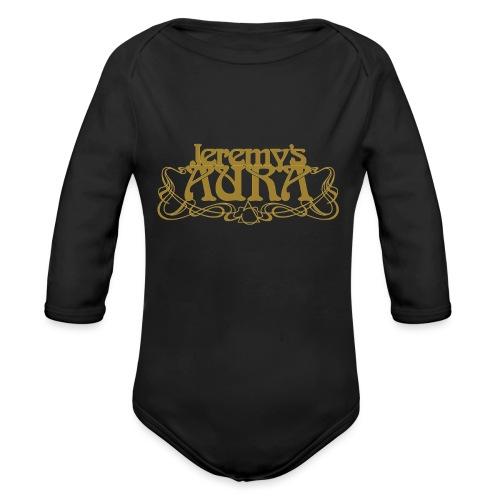 Jeremy's Art Nouveau Logo - Organic Long Sleeve Baby Bodysuit